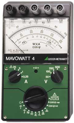 MAVOWATT 4  Vielfach-Leistungsmessgerät