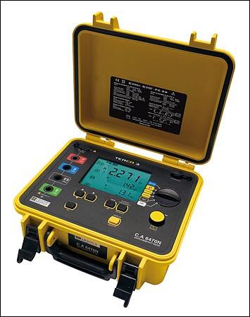 C.A 6470N Erdungs- u. Erdwiderstandsmesser  P01126506