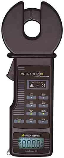 M311F  METRACLIP 62  Zangenstrommessgerät f. Ableit- u.Ladestrom
