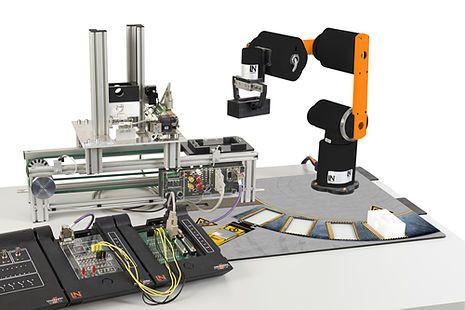 CRT 12 Robotertechnik mit Mechatronik Anwendung