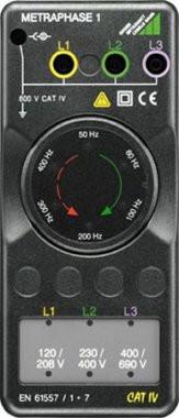 METRAPHASE 1  Drehfeldrichtungsanzeiger   600 Volt