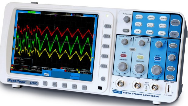 P 1260 200 MHz/2 CH, 2 GSa/s, Digital Speicheroszilloskop