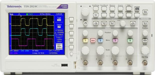TDS2024C 4-Kanal Digital-Speicher Oszilloskop,