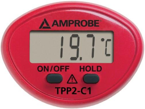 TPP2-C1  Taschenthermometer mit Oberflächenfühler (Beha)