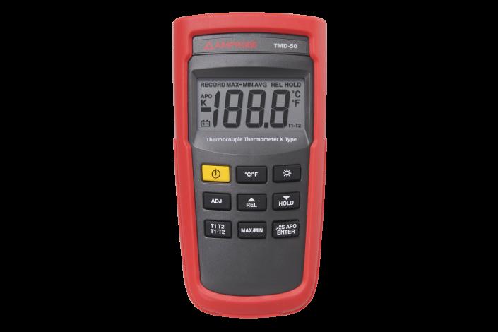 TMD-50 Digitales Thermometer Typ K mit zwei Eingängen (Beha)