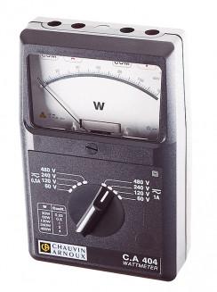 C.A 404 1-Phasen-Analog-Wattmeter AC/DC P01170304