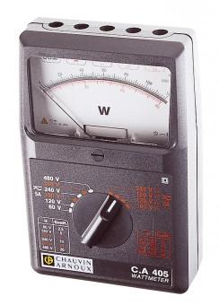 C.A 405 1-Phasen- & Drehstrom-Analog-Wattmeter AC/DC P01170305