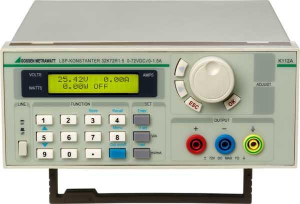 LSP 100-18 Labor-Stromversorgungen, linear geregelt