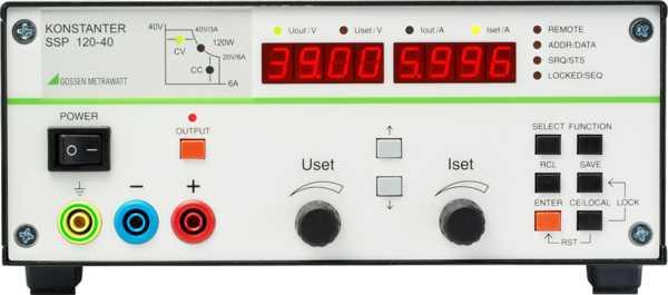 SSP 120-20 32 N 20 RU 10 P  Labor-Stromversorgungen,