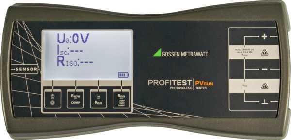 M360C PROFITEST PVsun,Prüfgerät für PV-Module