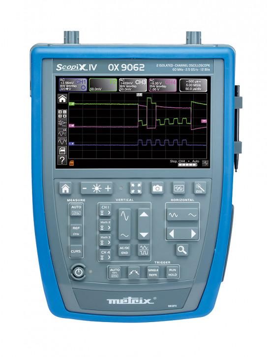 OX 9062 Tragbares Oszilloskop 2 x 60 MHz (D4)
