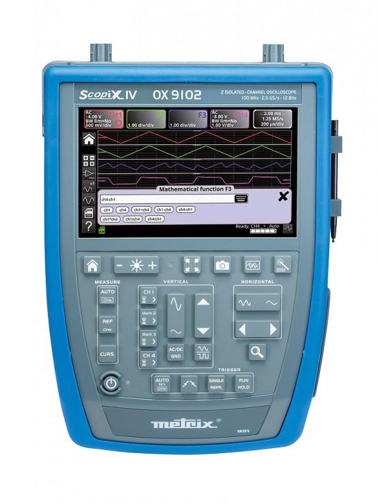 OX 9102 Tragbares Oszilloskop 2 x 100 MHz  (D4)
